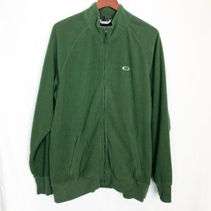 Oakley Hunter Forrest Green Fleece Zip Up XL